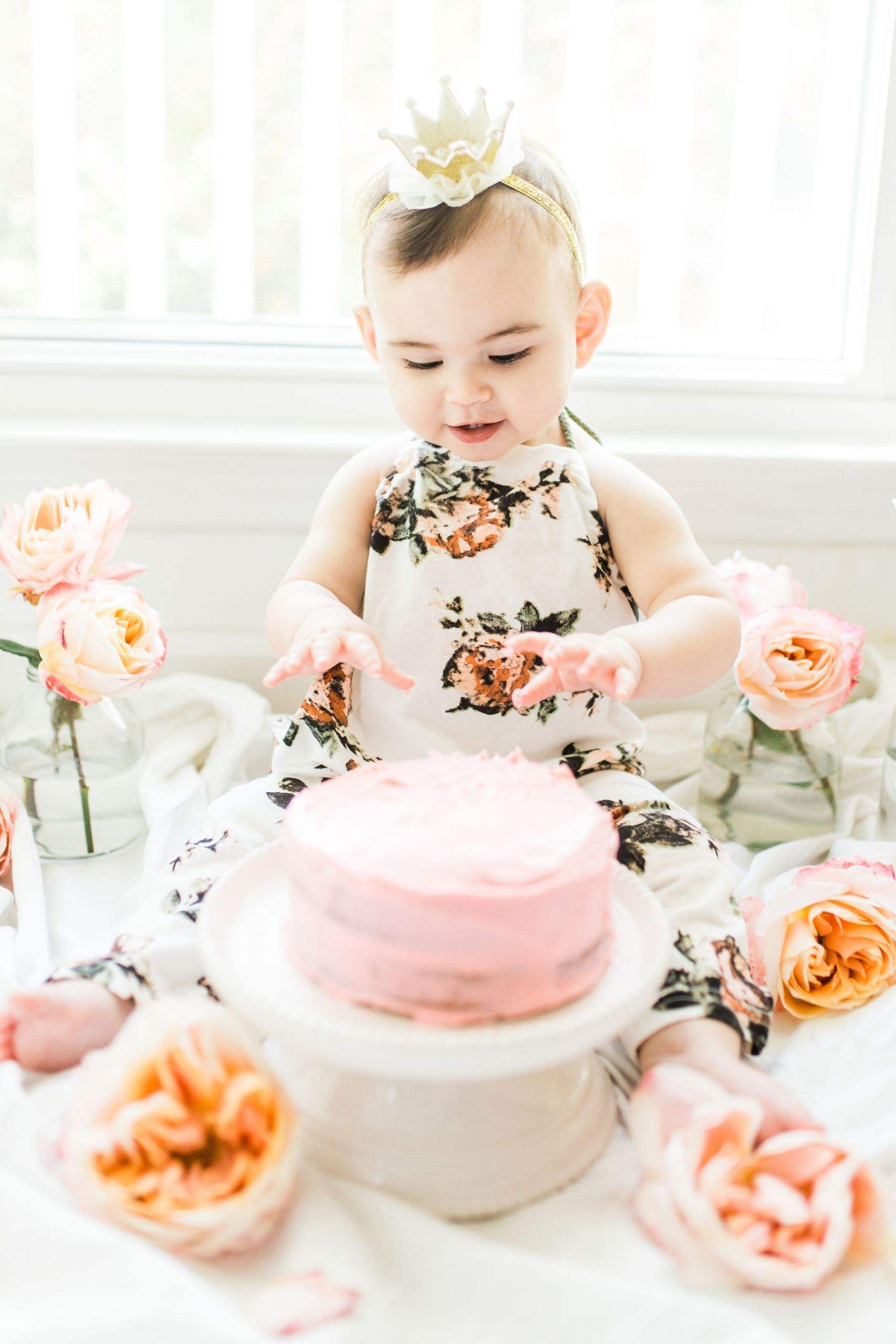 Birthday Smash Cake  First Birthday Smash Cake Vanilla Crazy Cake Recipe