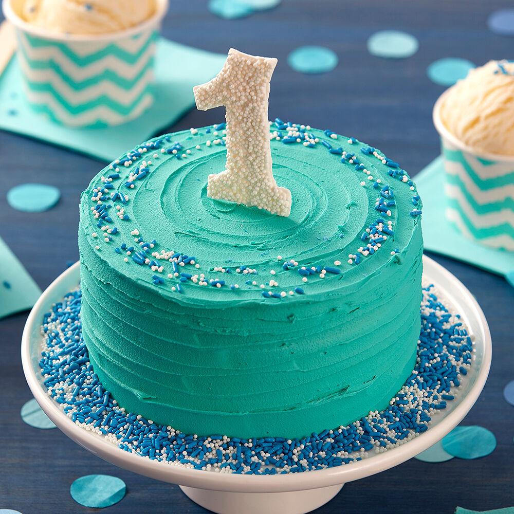 Birthday Smash Cake  Happy First Birthday Smash Cake