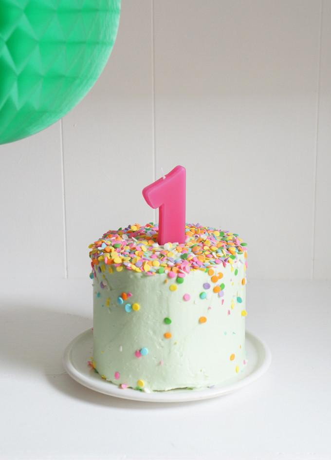 Birthday Smash Cake  Banana Baby Birthday Smash Cake – Sugary & Buttery
