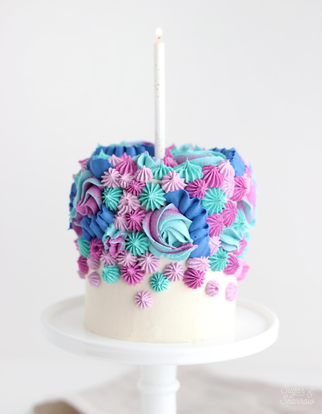 Birthday Smash Cake  1st Birthday Smash Cake Recipe Decorating Ideas Sugar