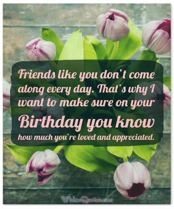 Birthday Wishes For Best Friend  Birthday Wishes for your Best Friends By WishesQuotes