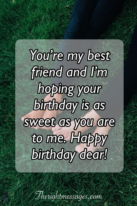 Birthday Wishes For Best Friend  Short And Long Birthday Wishes & Messages For Best Friend