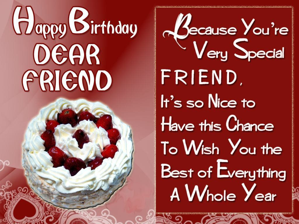 Birthday Wishes For Best Friend  250 Happy Birthday Wishes for Friends [MUST READ]