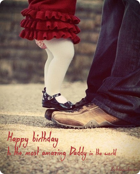 Birthday Wishes For Father From Daughter  Birthday wishes for dad from daughter