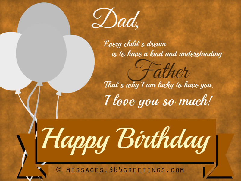 Birthday Wishes For Father From Daughter  Happy Birthday Wishes Messages and Greetings Messages