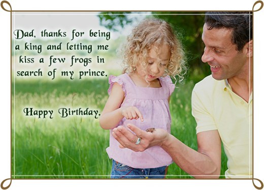 Birthday Wishes For Father From Daughter  Happy Birthday Quotes and Wishes for Dad