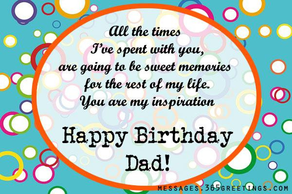 Birthday Wishes For Father From Daughter  Birthday Wishes for Dad 365greetings