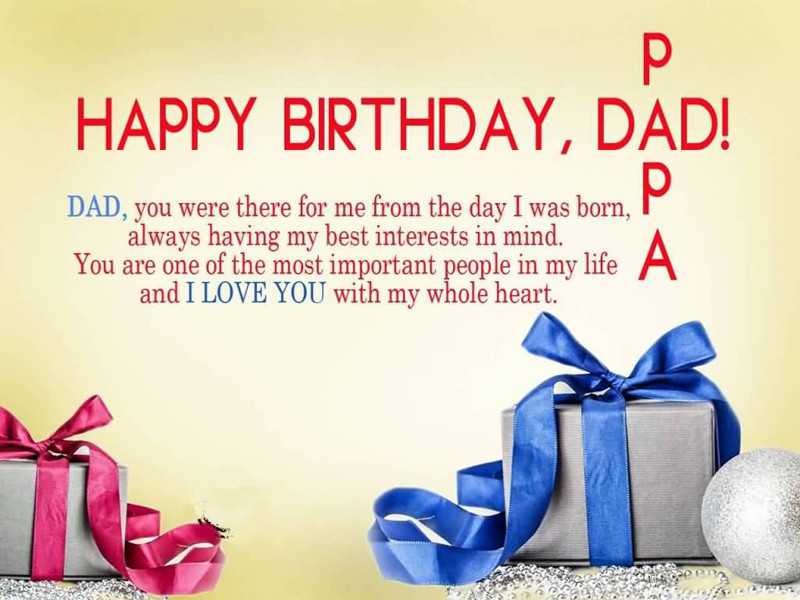 Birthday Wishes For Father From Daughter  120 Birthday Wishes For Dad Happy Birthday Father Messages