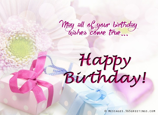 Birthday Wishes Messages  Messages Wishes and Quotes 365greetings