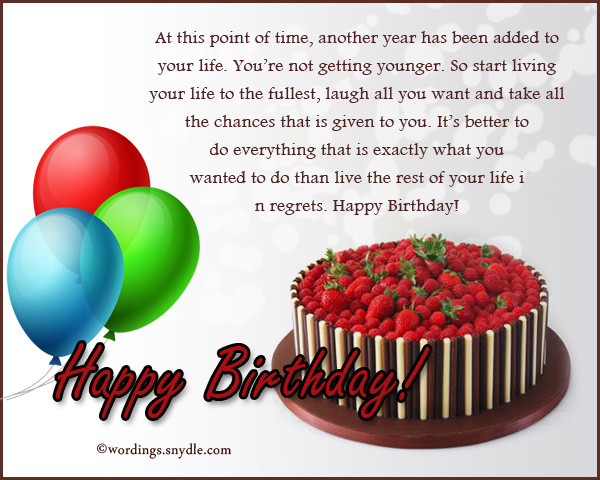 Birthday Wishes Messages  What To Write in a Birthday Card – Wordings and Messages