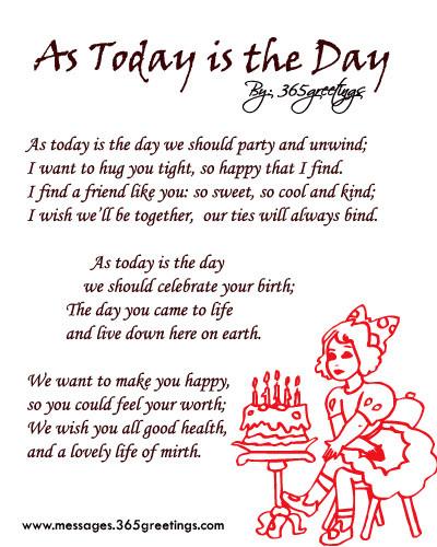Birthday Wishes Poems  25 Exclusive Happy Birthday Poems