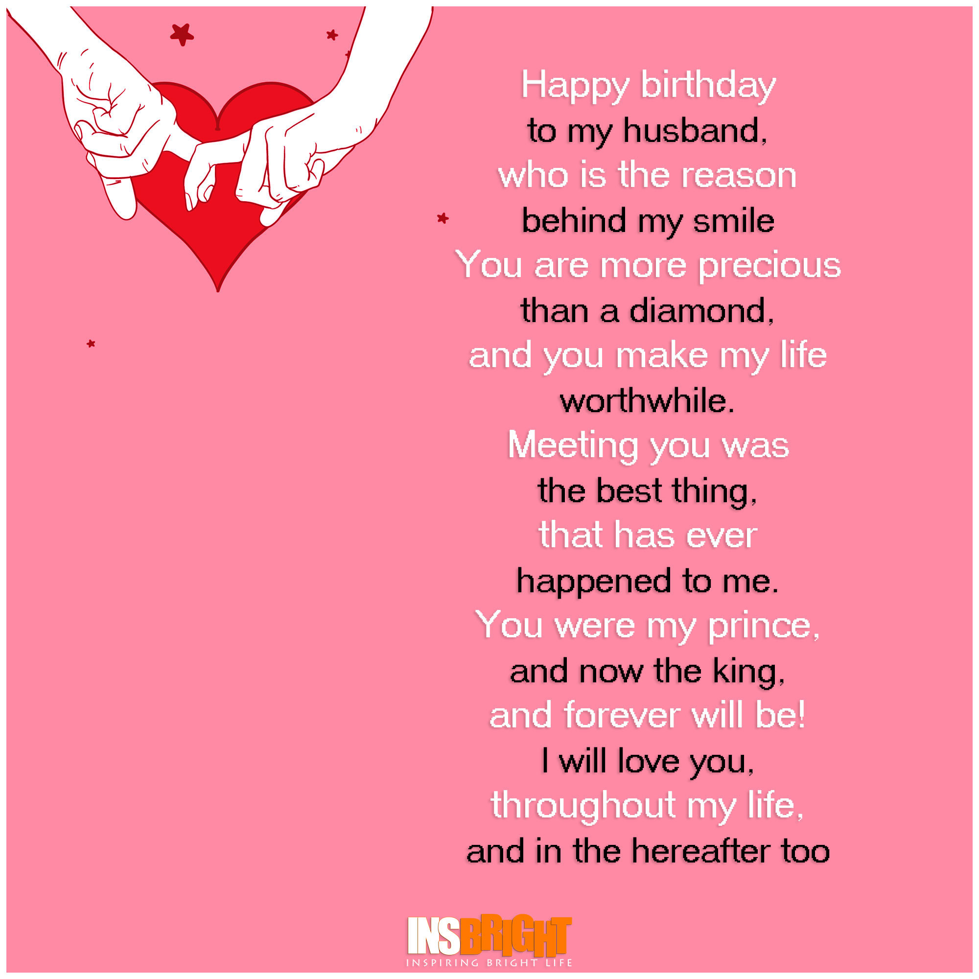 Birthday Wishes Poems  Romantic Happy Birthday Poems For Husband From Wife
