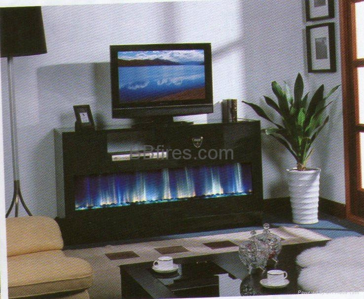 Blue Electric Fireplace  Hong Kong Restaurant electric fireplace Job TH 338 BB