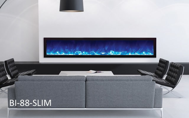 Blue Electric Fireplace  Electric Fireplace Mistakes you need to stop making