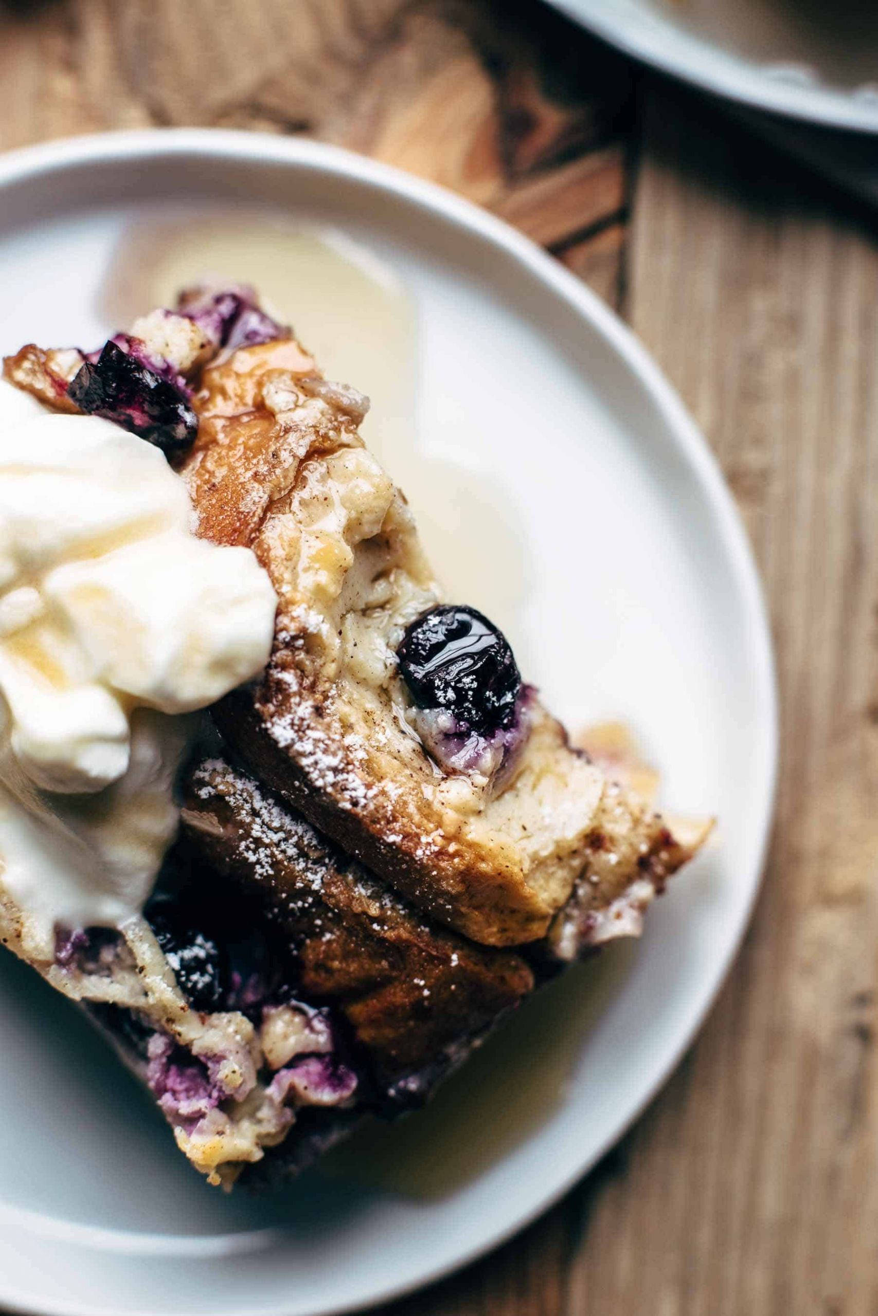 Blueberry Cream Cheese French Toast  Blueberry Cream Cheese French Toast Bake
