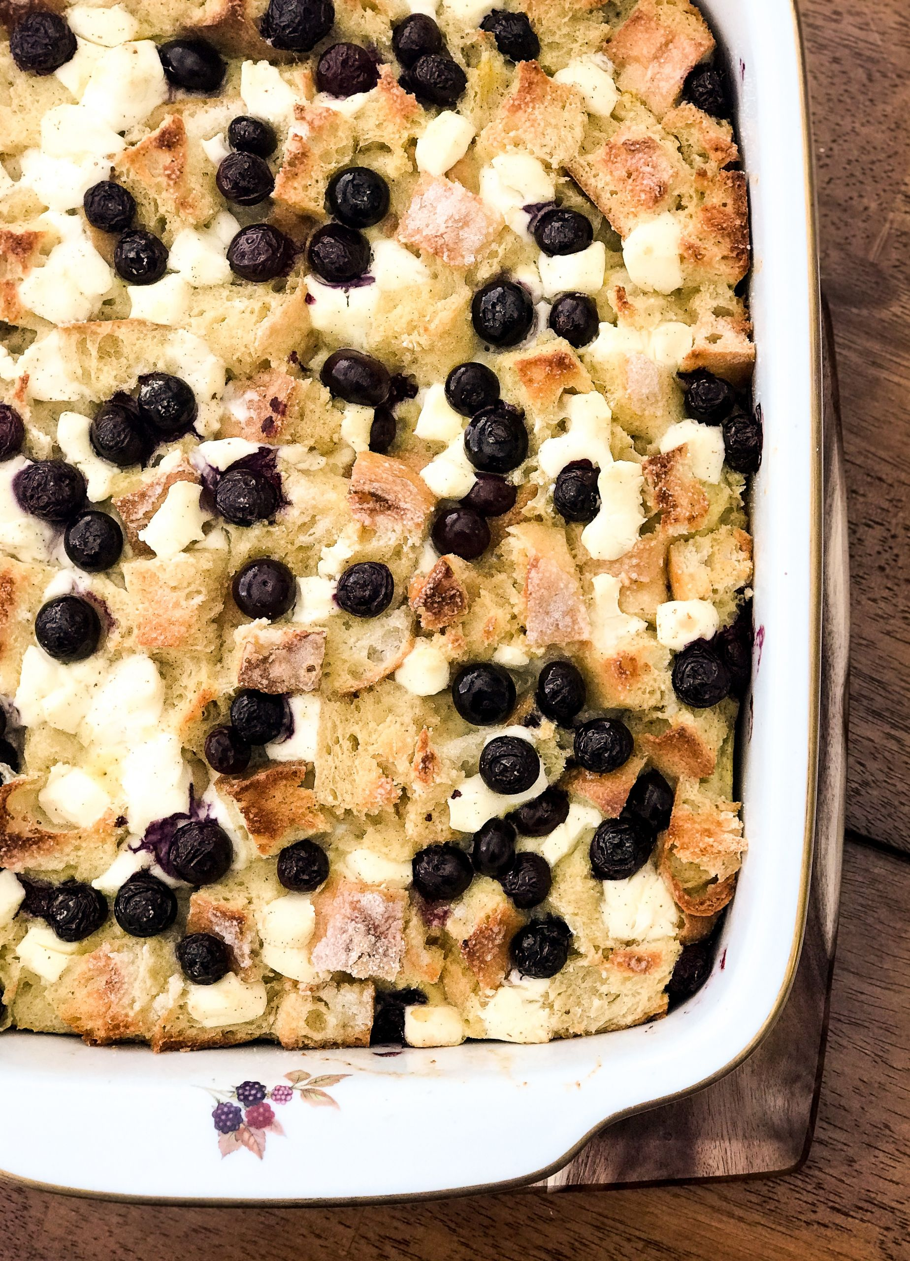 Blueberry Cream Cheese French Toast  Blueberry Cream Cheese French Toast Casserole This