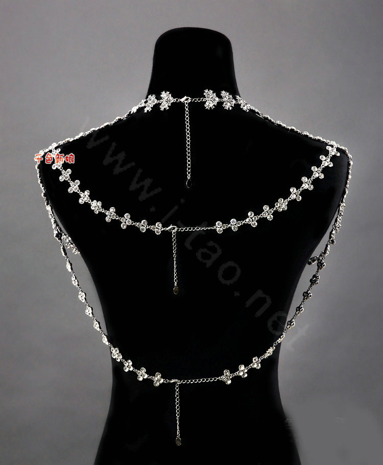 Body Chain Necklace  Buy Wholesale High Quality Fashion Crystal Bridal Necklace