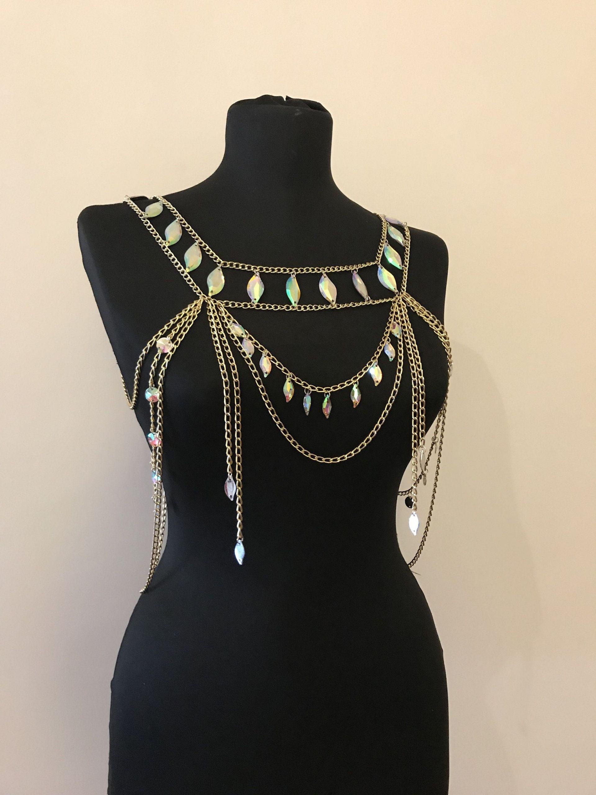 Body Jewelry Coachella  Crystal Body Jewelry Festival Jewelry Burningman With