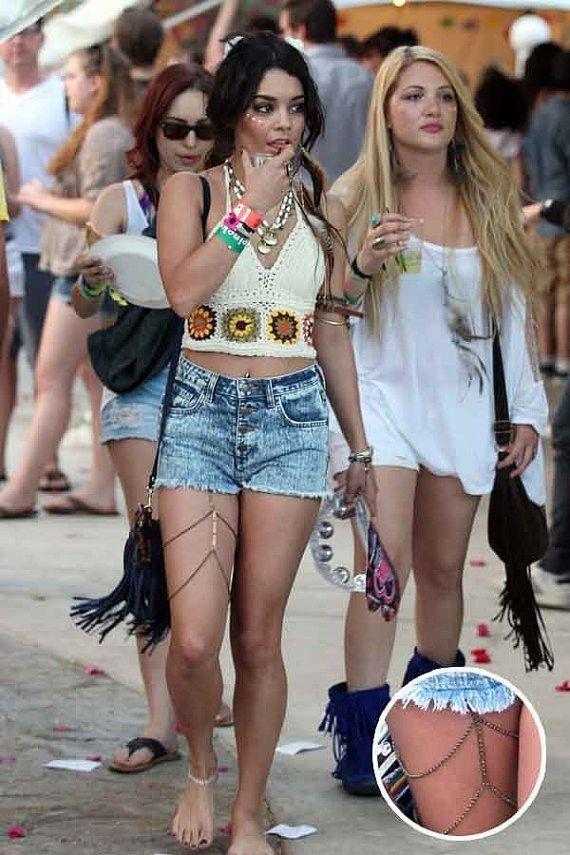 Body Jewelry Coachella  BODY JEWELRY LEG CHAIN