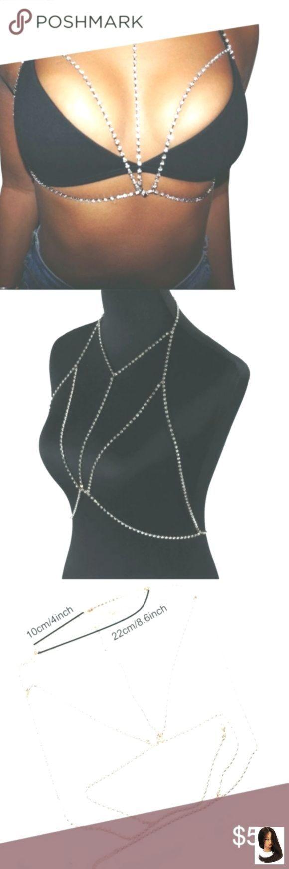 Body Jewelry Coachella  Adjustabl Body Body Jewelry coachella bra Diamond