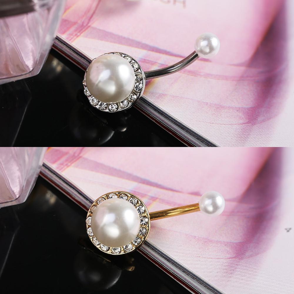 Body Jewelry Fantasy  Aliexpress Buy y Pearl navel Body Jewelry