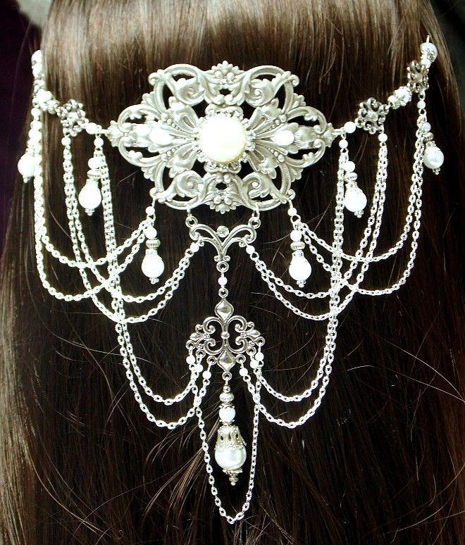 Body Jewelry Fantasy  Evenstar Headpiece