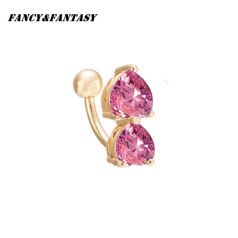 Body Jewelry Fantasy  Fancy&Fantasy Hot Body Jewelry Crystauble Heart shape