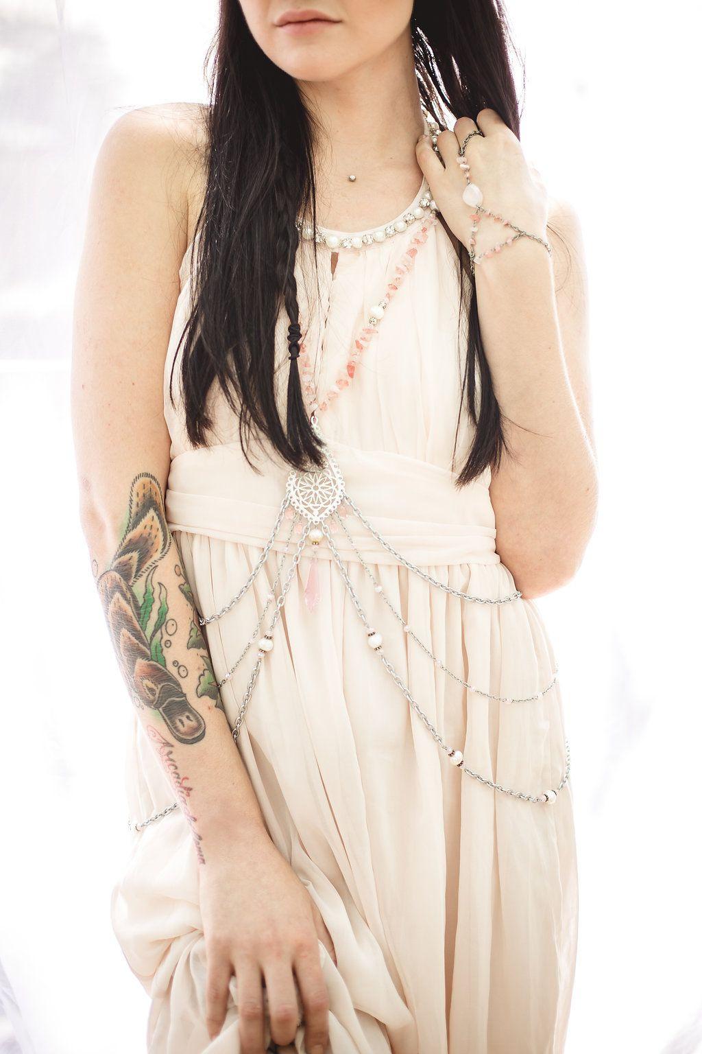 Body Jewelry Photoshoot  Body jewelry by Astraea Designs