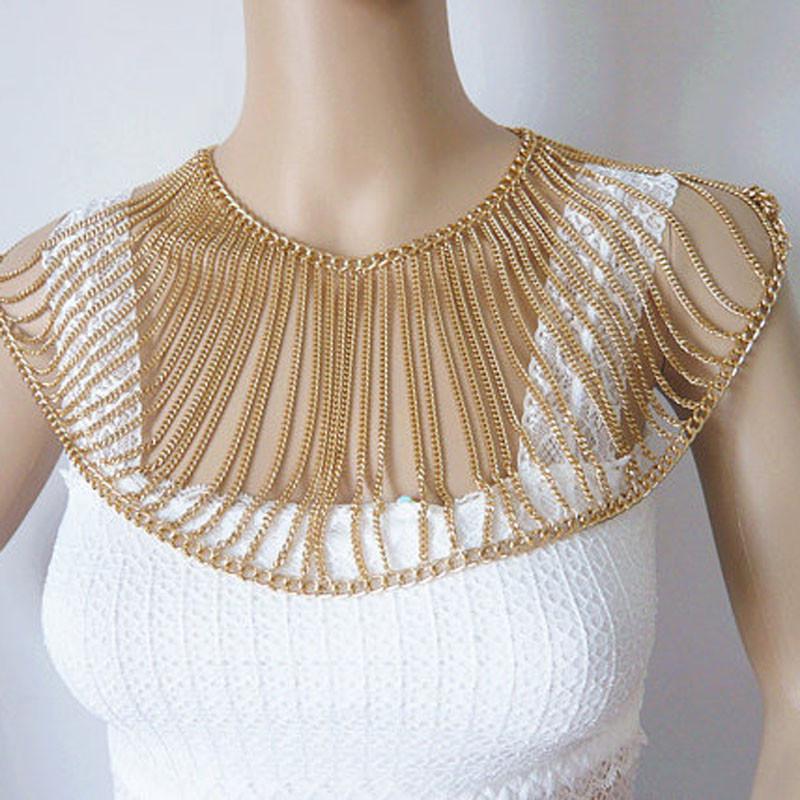 Body Jewelry Shoulder  Aliexpress Buy New Arrivals Women Fashion Chains