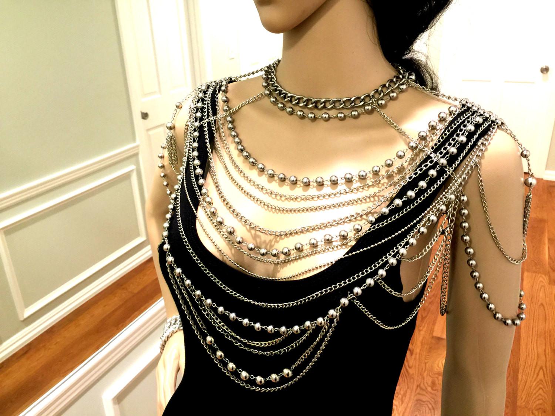 Body Jewelry Shoulder  Shoulder Jewelry Shoulder Chain Body Jewelry Metal Body