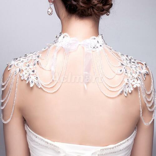 Body Jewelry Wedding  Crystal Bride Shoulder Body Chain Jewelry Wedding