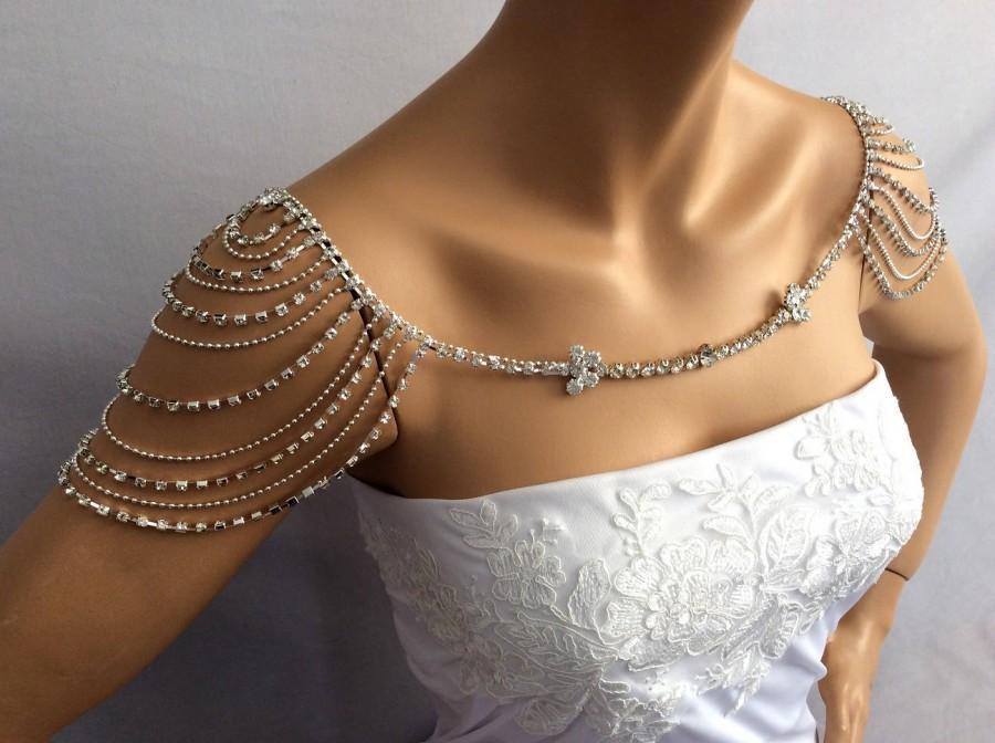Body Jewelry Wedding  Wedding Shoulder Jewelry Bridal Shoulder Necklace Bridal