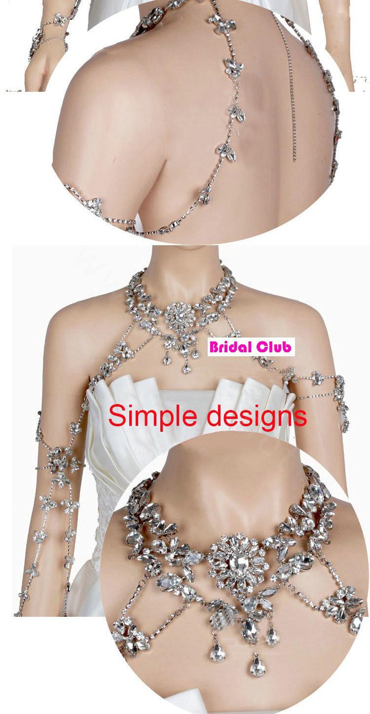Body Jewelry Wedding  Buy Wholesale Luxury Banquet Flower Crystal Bridal