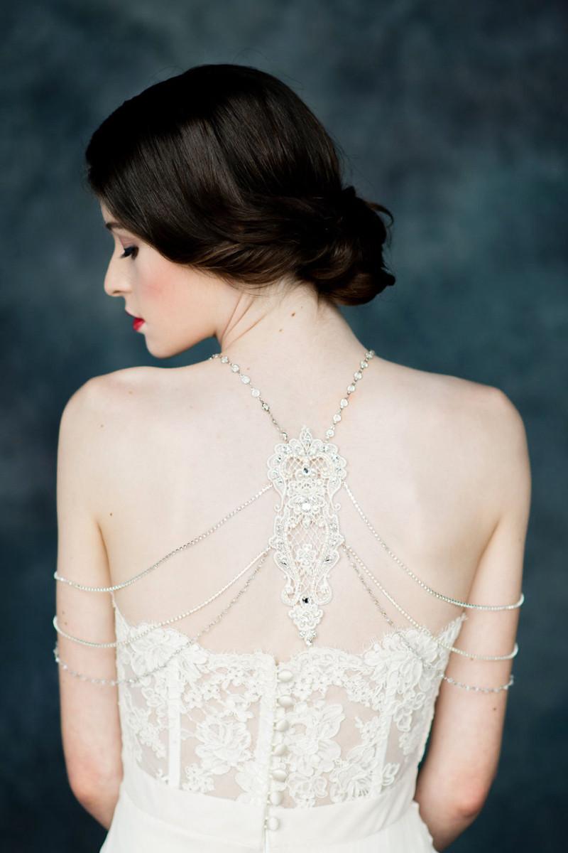 Body Jewelry Wedding  20 Gorgeous Statement Making Bridal Body Jewelry Picks