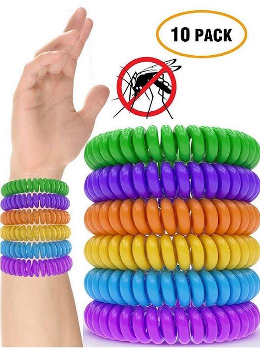 Bug Repellent Bracelet  10 x Anti Mosquito Bug Insect Repellent Bracelet Wrist