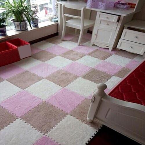 Carpet Tiles For Kids Room  1Pc Soft Puzzle Floor Mat Tile Baby Kids Children Play