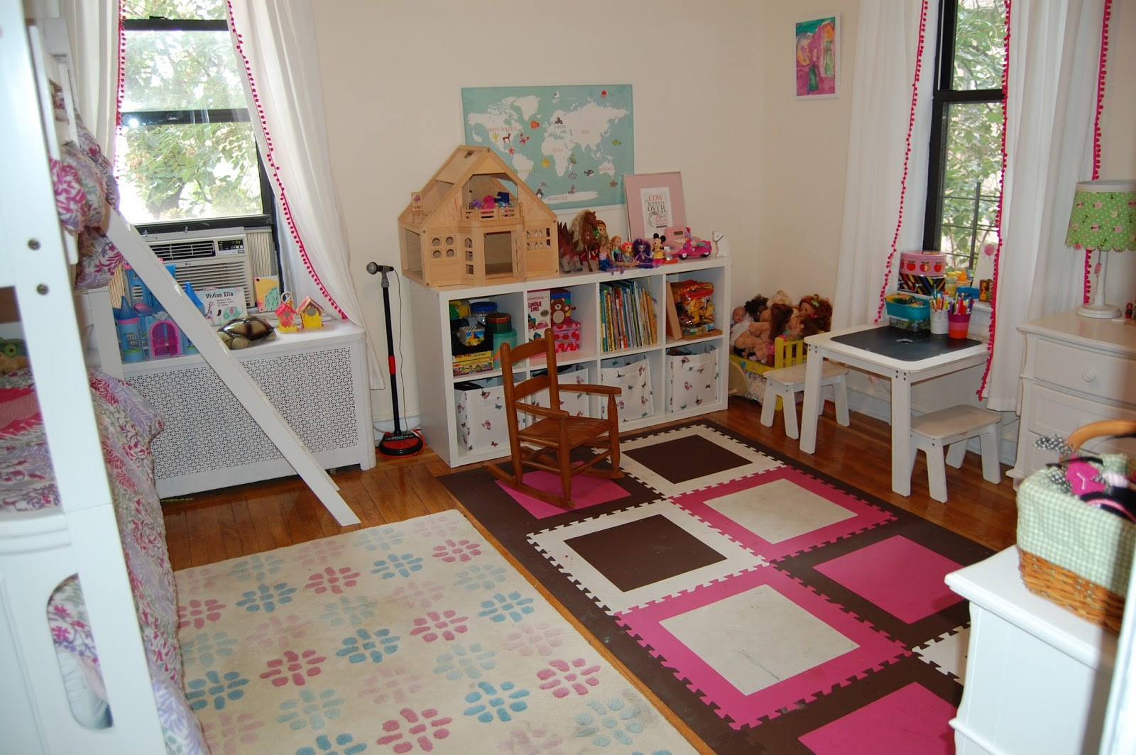Carpet Tiles For Kids Room  baby meets city A Kids Room Update with FLOR Carpet Tiles