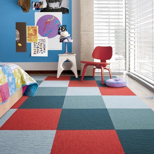 Carpet Tiles For Kids Room  Colorful Rug Ideas For Kids Rooms