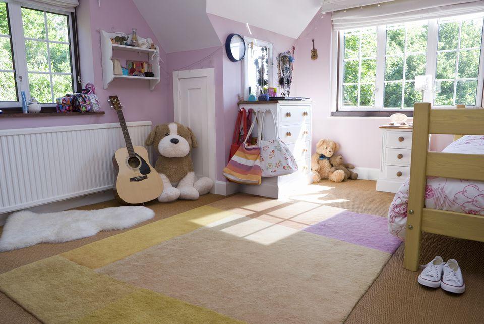 Carpet Tiles For Kids Room  Children s Bedroom Flooring Options and Ideas