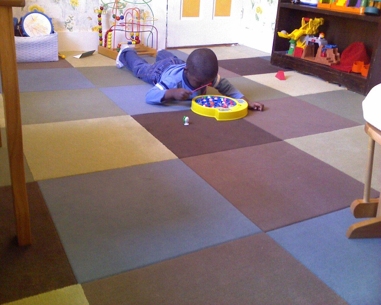 Carpet Tiles For Kids Room  Playroom Flooring