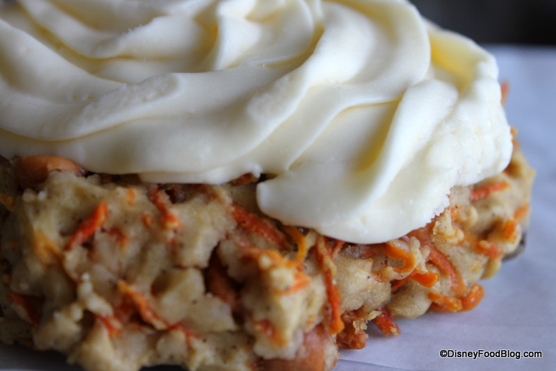 Carrot Cake Cookie Disney  Disney Carrot Cake Review