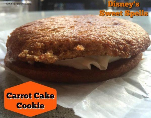 Carrot Cake Cookie Disney  Sweet Spells Menu