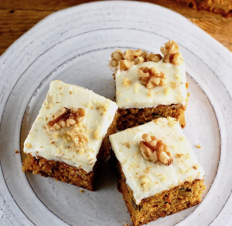Carrot Cake Made With Baby Food  Carrot Cake Bars Made With Baby Food GreenStarCandy