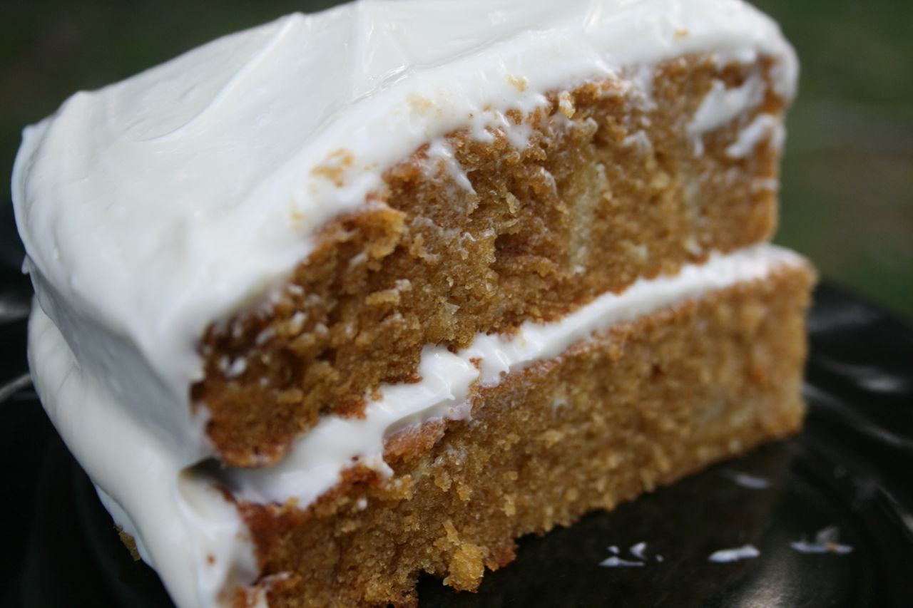 Carrot Cake Made With Baby Food  Recipe Shoebox Baby Food Carrot Cake
