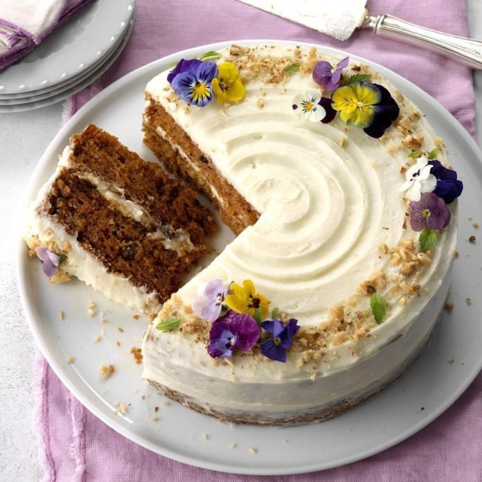 Carrot Cake Made With Baby Food  Pineapple Carrot Cake Recipe