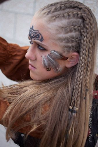 Celtic Hairstyles Female  Ancient Celtic Women Warriors