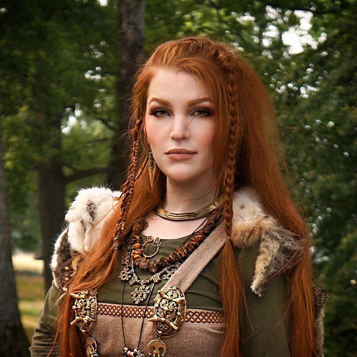 Celtic Hairstyles Female  Viking braids for women Warrior women braids Ragnar