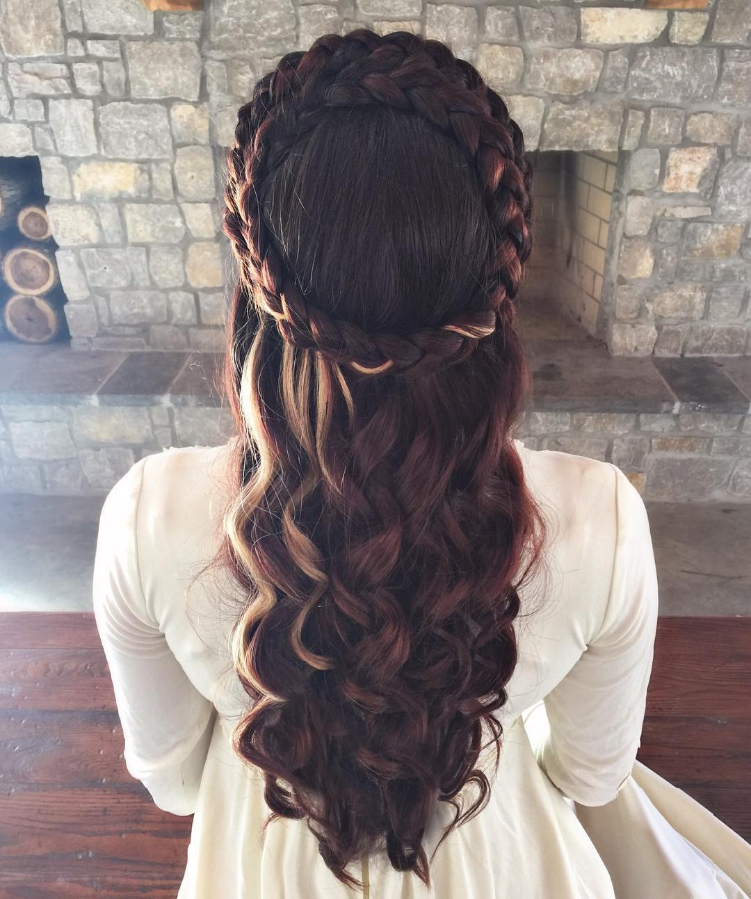 Celtic Hairstyles Female  24 Beautiful Me val Hairstyles