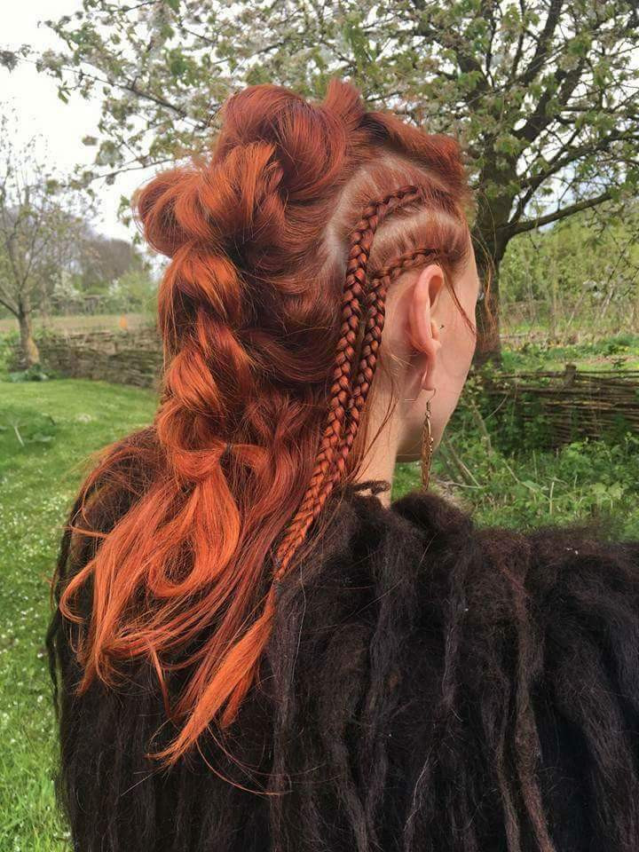 Celtic Hairstyles Female  Cool Viking hairstyle – cute pic