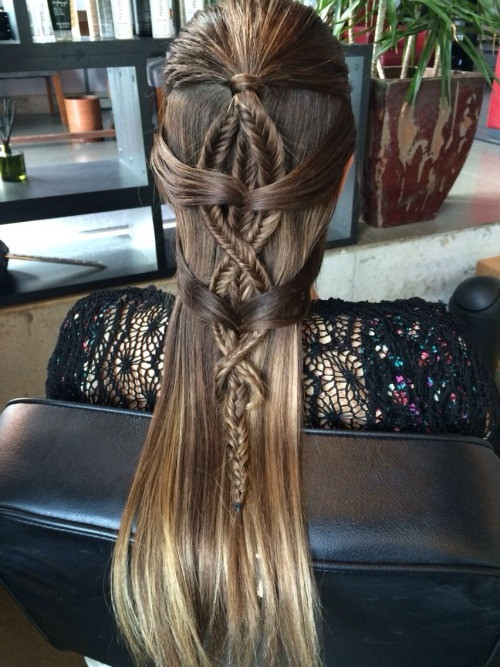 Celtic Hairstyles Female  celtic hairstyle